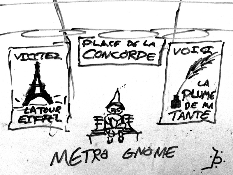 Metro gnome